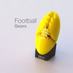 Download free STL file Football Gears, Gaenarra