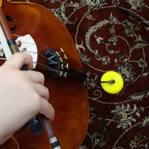Télécharger fichier STL gratuit Anneau de violoncelle pour tapis • Design pour impression 3D, Gaenarra