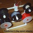 Download free 3D printer model Feederbot spool adapter, Gaenarra