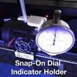 dial-indicator-holder-01_display_large.jpg Download free STL file Snap-on Dial Indicator Holder for Replicator 2 • 3D printer template, Gaenarra