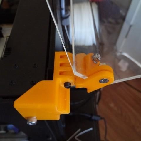 enclosure_mounting_hardware_5_display_large.jpg Télécharger fichier STL gratuit Matériel de montage de boîtier pour réplicateur 2 • Objet pour impression 3D, Gaenarra