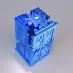 Download free 3D printer templates Tardis Gears, Gaenarra