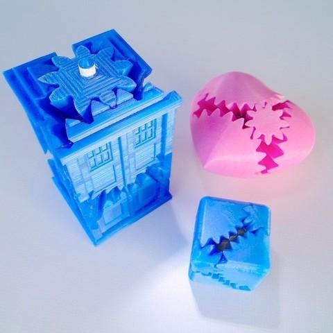 Télécharger plan imprimante 3D gatuit Kit d'engrenage PLA, Gaenarra