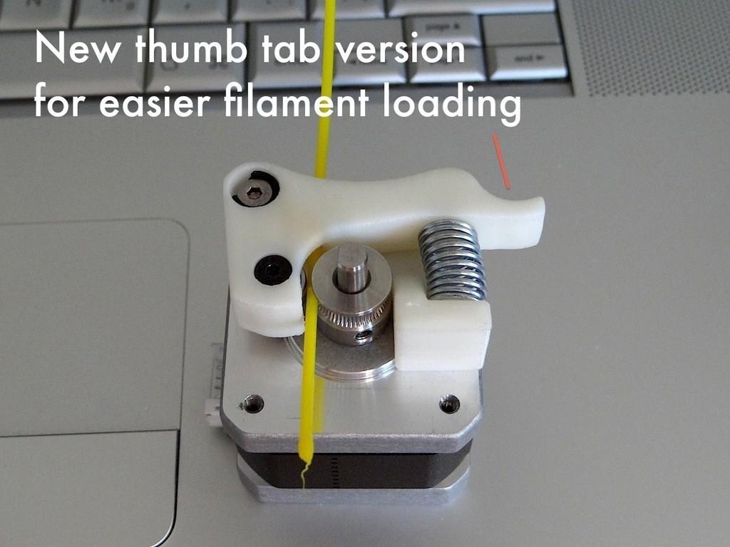 Replicator_2_Extruder_Upgrade_02_display_large.jpg Télécharger fichier STL gratuit Mise à niveau de l'extrudeuse Replicator 2 • Plan imprimable en 3D, Gaenarra