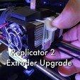 Download free 3D printing templates Replicator 2 Extruder Upgrade, Gaenarra