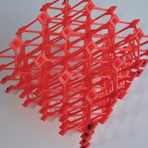 DSC00417_display_large.jpg Download free STL file Snap-build Cellular Structure • 3D printer object, Gaenarra