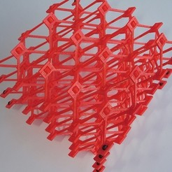 Free 3D printer files Snap-build Cellular Structure, Gaenarra