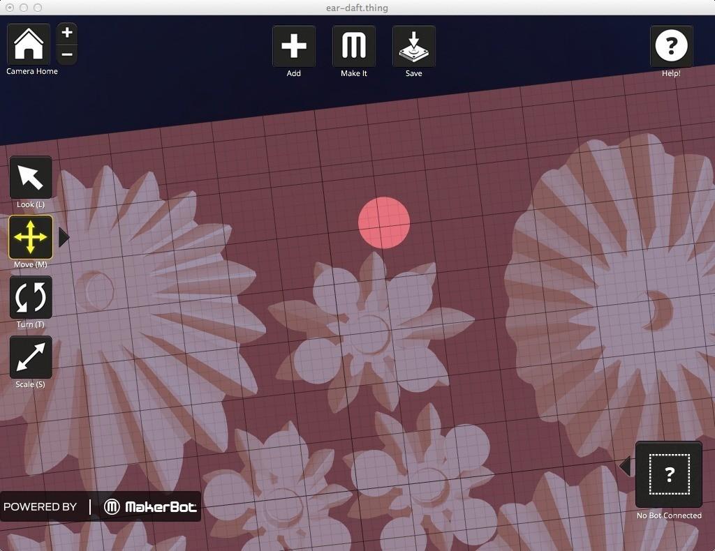 Ear-Raft-Print-Aid_display_large.jpg Télécharger fichier STL gratuit Radeau d'oreille - Aide à l'impression Makerware • Design à imprimer en 3D, Gaenarra
