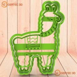 Télécharger objet 3D STL FLAME ANIMAL Coupe-pâte - Coupe-biscuits, GERTEC