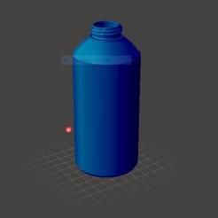 bottlethingiverse.PNG Download free STL file 3D Printable Bottle (Compatible With Soda Bottle Cap) • 3D printing template, griffinhaydon123