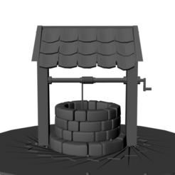front well.png Download STL file water well • 3D print object, dodrawadel