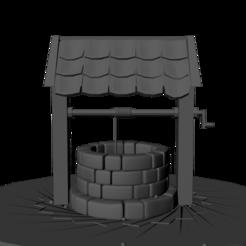 front well.png Télécharger fichier STL water well • Design à imprimer en 3D, dodrawadel