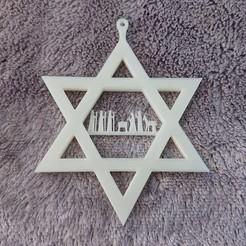 DSC_0257.jpg Download STL file Nativity Star Bauble Decoration • 3D printer model, stevie39