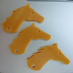 DSC_0446.JPG Download STL file Horse Key Ring • Template to 3D print, stevie39