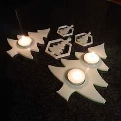 DSC_0220.jpg Télécharger fichier STL Porte-bougie à réchaud pour l'arbre de Noël • Objet pour imprimante 3D, stevie39