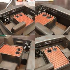 interior 1.jpg Télécharger fichier STL Intérieur du wagon Proline Power • Plan pour imprimante 3D, Shaky_rc
