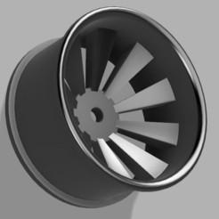 3D printer files Rc drift wheel Concavis 10 spoke, Shakydrifters
