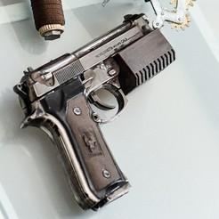 Free 3D printer files Gun Barrel Grip, TASPP
