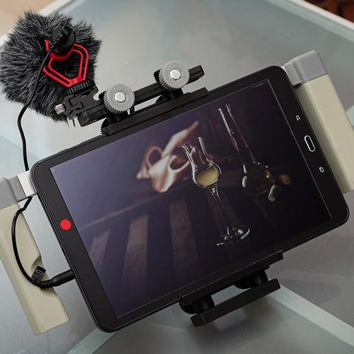 Download 3D printer designs T-RIG Tablet RIG , TASPP