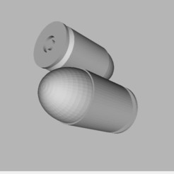 Bullet_9x19mm.JPG Download free STL file Bullet 9 x 19 mm • 3D print design, TASPP