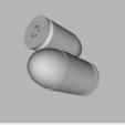 Télécharger fichier STL gratuit Balle 9 x 19 mm • Design pour imprimante 3D, TASPP