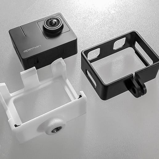 Download free 3D printer designs APEMAN TRAWO A100 Cage, TASPP