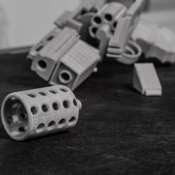 Free 3D printer model Fire Damper for Grimmindustries Colonial Blaster, TASPP
