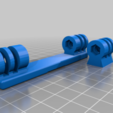 Download free 3D printing models GoPro Double Mounts, TASPP