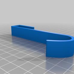 Télécharger plan imprimante 3D gatuit Crochet à serviette Handtuch Haken, TASPP