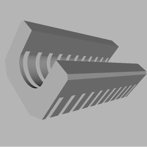 Télécharger fichier STL gratuit Pistolet Baril Grip, TASPP
