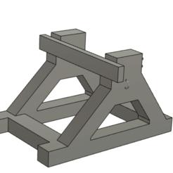 Impresiones 3D gratis Llamador de puerta asimétrico de dos bloques, MaxLeon59