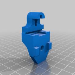 z_endstop_mount.png Télécharger fichier STL gratuit Mont Hypercube Z Endstop • Objet pour impression 3D, Schnello
