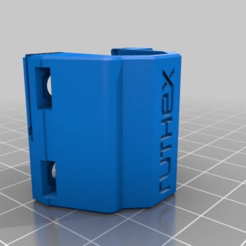 Download free STL file Ruthex Bearing Slide Block Any I3 Mega for Piezo Sensor • 3D print template, Schnello