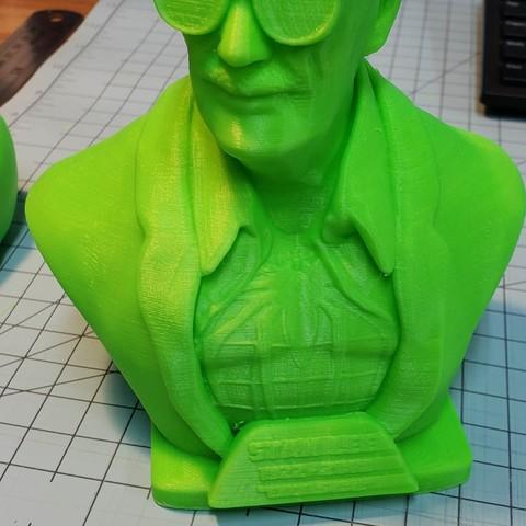 Free 3D printer model Stan Lee Memorial , tacustomgraphix