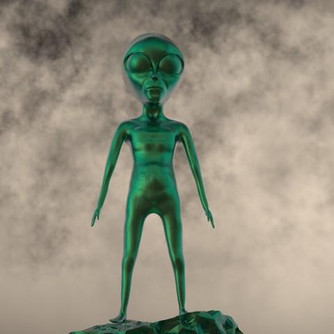 Impresiones 3D extraterrestre-15, decoratiehgallery