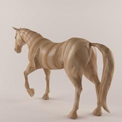 Impresiones 3D Caballo de madera-43, decoratiehgallery