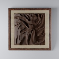 fsd.jpg Download STL file modern plywood frame-34 • 3D printing model, decoratiehgallery