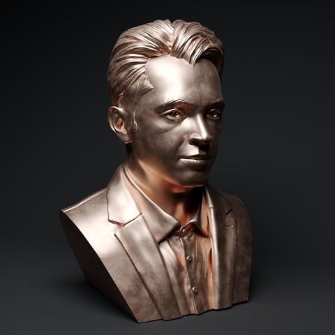 3D printing model  rose gold man sculpture-39, decoratiehgallery