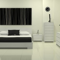 Download STL files master bed-49, decoratiehgallery