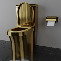 Download 3D printer designs luxury toilet-33, decoratiehgallery