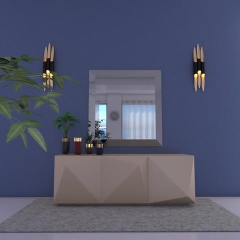 STL files consull and mirror -5, decoratiehgallery