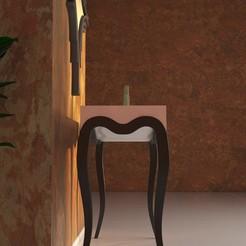 3D print model classic table 1-14, decoratiehgallery