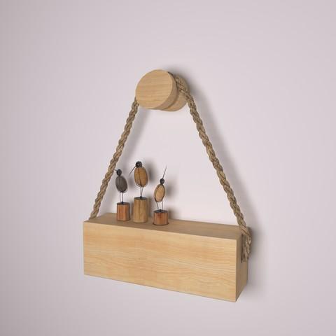 Download 3D printing designs wooden Holder-46, decoratiehgallery