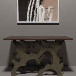 Fichier imprimante 3D table moderne-20, decoratiehgallery