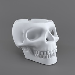 Download 3D print files skull smoke-36, decoratiehgallery