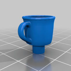 Download free STL file Coffee Cup Keycap - MX Cherry • 3D printer object, FedorSosnin