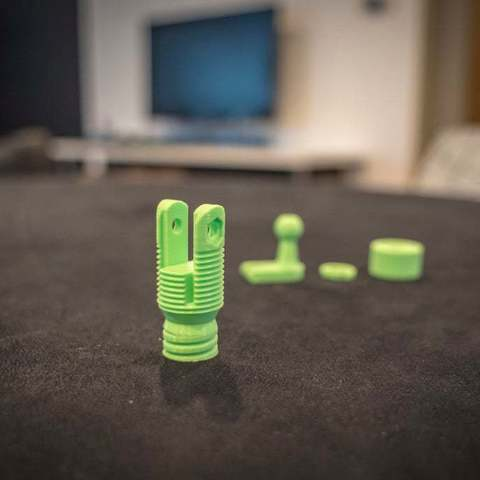 Download free 3D printing files Ender 3 Tensioner Camera / LED Mount, FedorSosnin