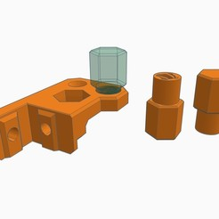 Annotation_2020-02-06_004642.jpg Download free STL file Prusa i3 Bear Upgrade Z Rod Stabilizer Knobs • Template to 3D print, FedorSosnin