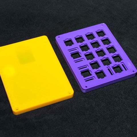 f09001a077f325664ab221f89791d86b_display_large.JPG Télécharger fichier STL gratuit Clavier mécanique - SiCK-PAD • Objet imprimable en 3D, FedorSosnin
