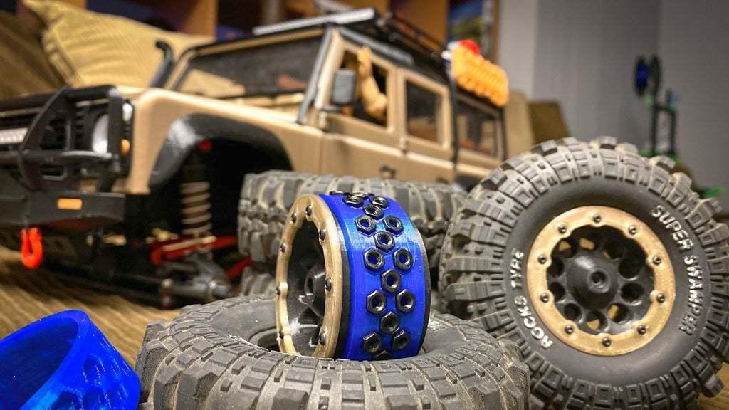 IMG_9150.jpg Télécharger fichier STL gratuit 3DSets Rancher Beadlock Tire Lock Ring (2 options) • Plan imprimable en 3D, FedorSosnin